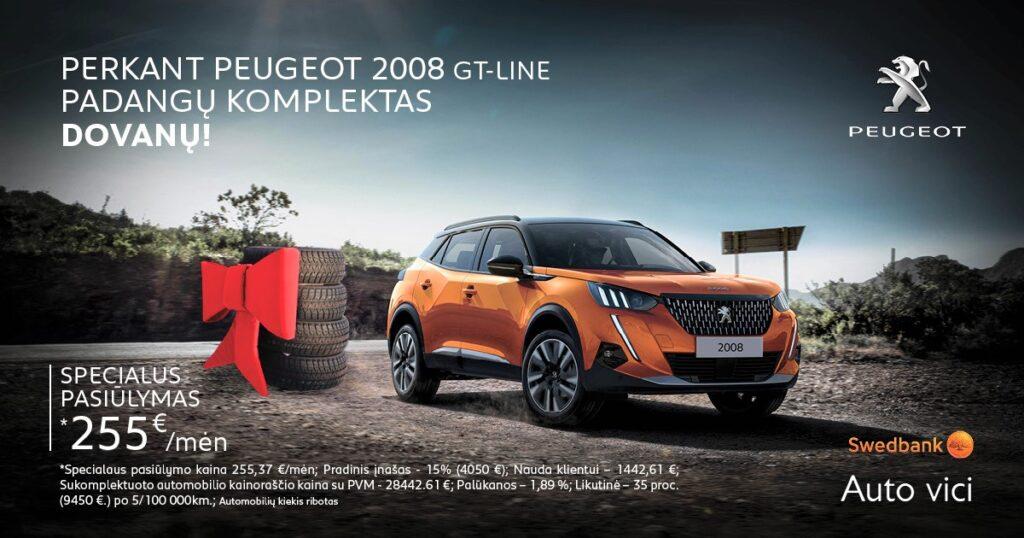 Peugeot 2008 dovana